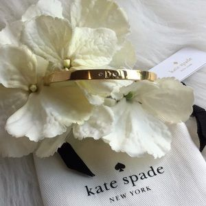 "🆕Kate Spade One in a Million ""D"" Initial Bangle"
